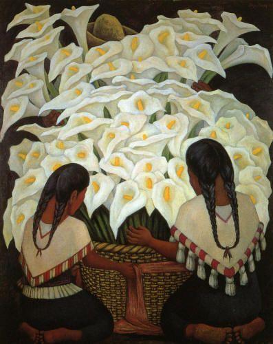 Calla Lily Vendor, 1943. Museo Delores Olmeda