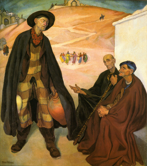 The Old Ones, 1912, Museo Dolores Olmedo