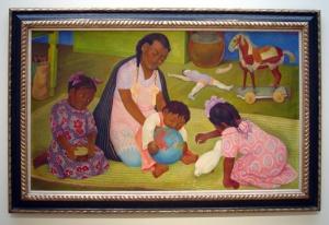 Maternidad - Diego Rivera